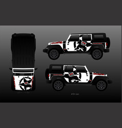 Jeep decal kit vector