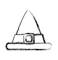 male vintage hat vector image