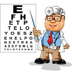 Oculist vector