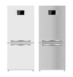 Refrigerator 3d model vector