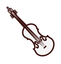 Violin or viola icon image vector