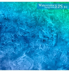 watercolor background Abstract art hand paint vector image