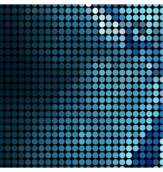 Abstract Blue Pattern vector image