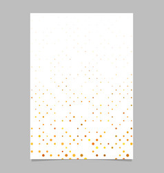 abstract dot pattern brochure design - cover vector image