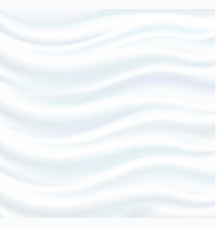 abstract white background silk fabric vector image