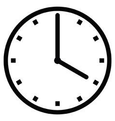 Clock 4 vector