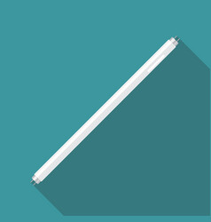 Fluorescent tube lamp vector