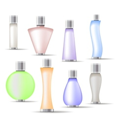 Fragrance bottles vector