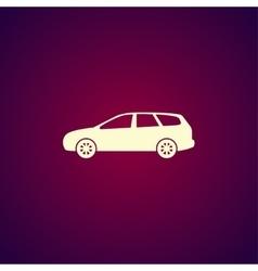 wagon Car icon concept for design vector image