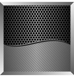iron background vector image
