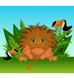 cartoon animal vector image vector image