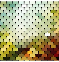 Chainmail mosaic pattern vector