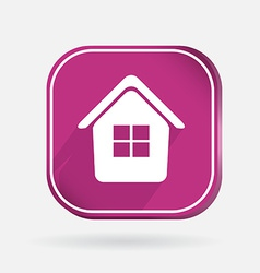 square icon home vector image