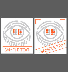 concept for the education braille vector image vector image