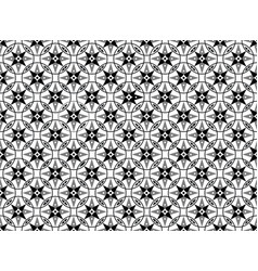 abstract geometric seamless pattern white asian vector image