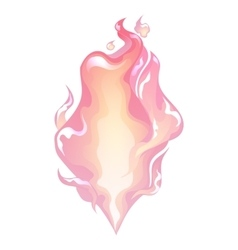 Abstract graphic fire vector
