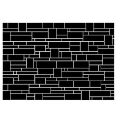 Brick wall block pattern vector image
