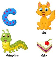 C alphabet vector