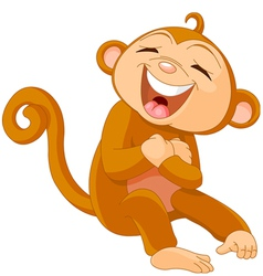 Cartoon monkey vector