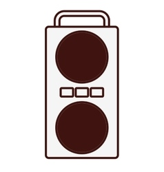 Concert speaker icon image vector