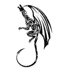 dragon 9 vector image