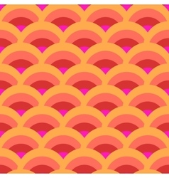 Half-round geometric seamless pattern 1412 vector image