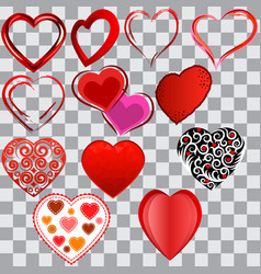 Heart6 vector