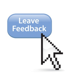 Leave Feedback Button Click vector