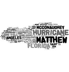 matthew word cloud concept vector image