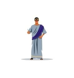 Roman philosopher vector image