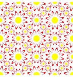 Seamless flower vector