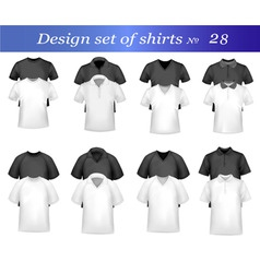 black and white tshirt design vector image vector image
