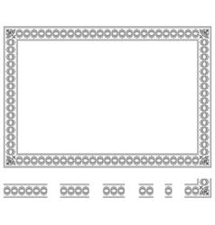 Modular frame bis vector image
