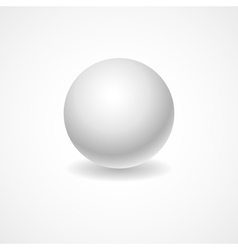 A white globe on a light background lighting for vector image