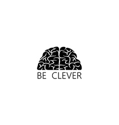Be clever background vector