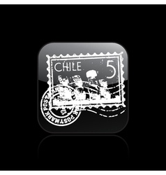 chile icon vector image