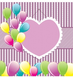congratulation background vector image