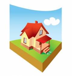 Dream home vector