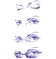 Eyes Set vector