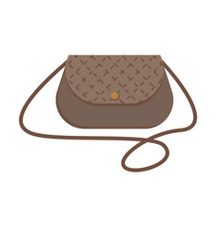 female handbag over the shoulder vector image