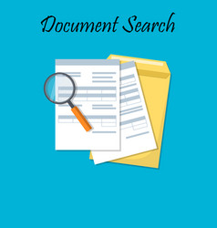For business documents vector