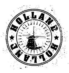 Holland icon vector