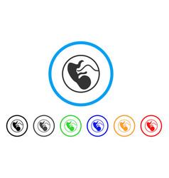 Prenatal rounded icon vector