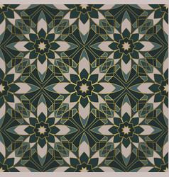 retro abstract mosaic vector image
