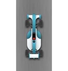 speed car vector image
