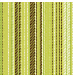 striped lines green brown seamless pattern vector image