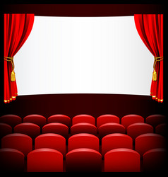 theatre 03 vector image