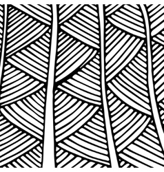 pattern with dense fir trees vector image vector image
