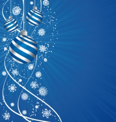 holiday composition vector image vector image