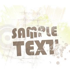 Grunge Background for Design vector image vector image